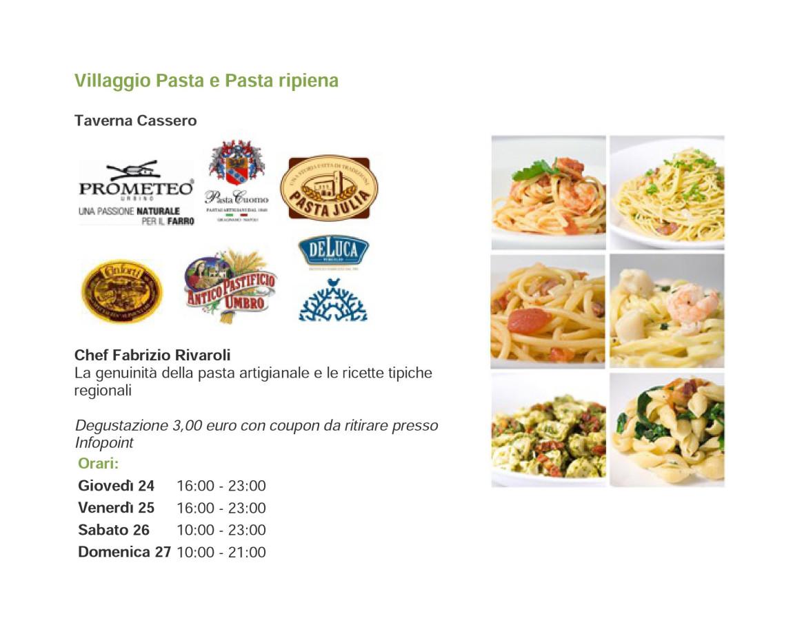 """Pasta Julia a """"I Primi d'Italia"""" di Foligno"""